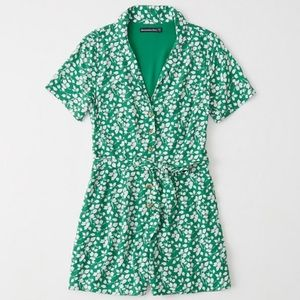 Abercrombie and Fitch Tie Front Romper